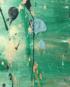 Groen schilderij - FAUQ Studio