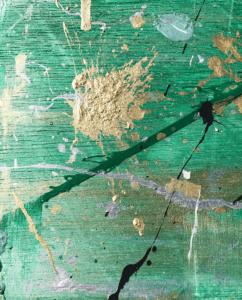 Groen schilderij – FAUQ Studio