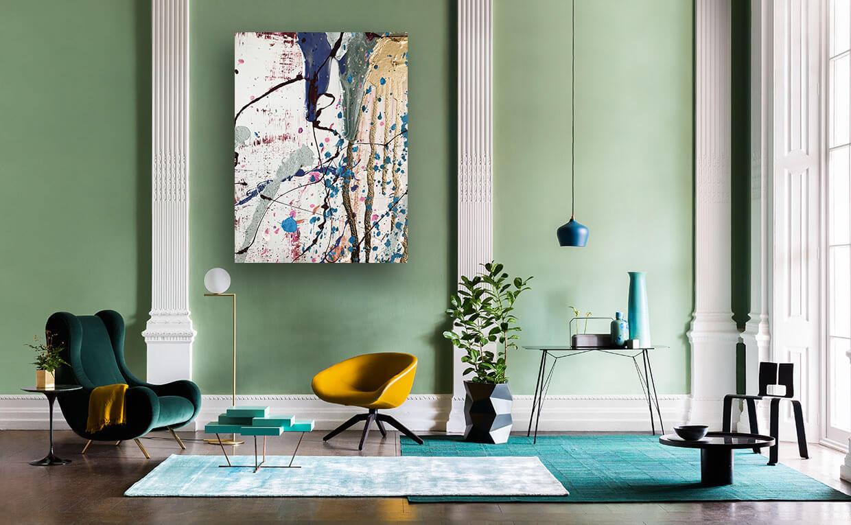 Abstracte schilderijen kopen - FAUQ Studio