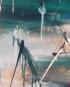 Groen schilderij – abstract groen schilderij – FAUQ studio