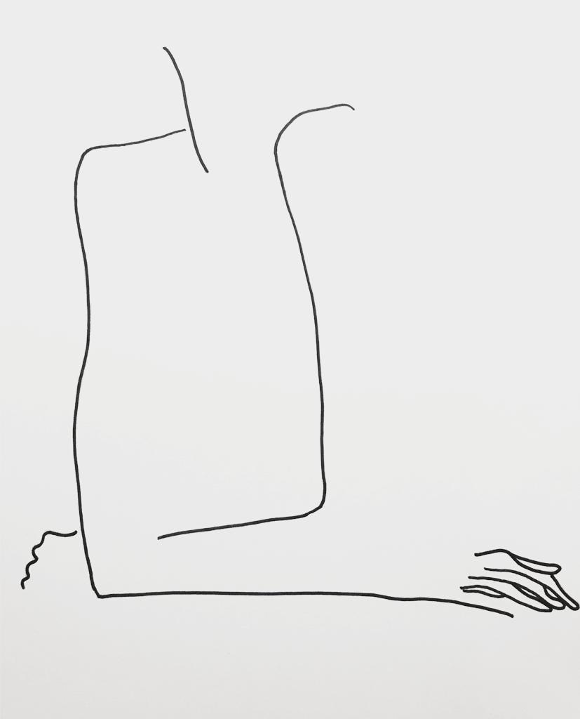 Kunst poster 26 x 36 cm - Féminine - FAUQ Studio